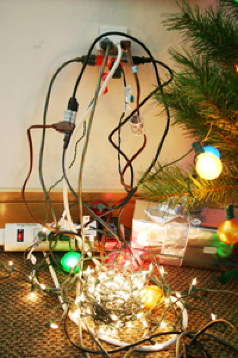 Six Tips To Avoid Overloaded Christmas Electrical Outlets Cbc News Home Wiring In Series The Charlottetown Fire Department Offers Overloading Its 12 Days Of Safety Campaign Howitworks
