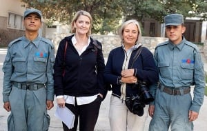Journalist Kathy Gannon and Photographer  Anja Niedringhaus
