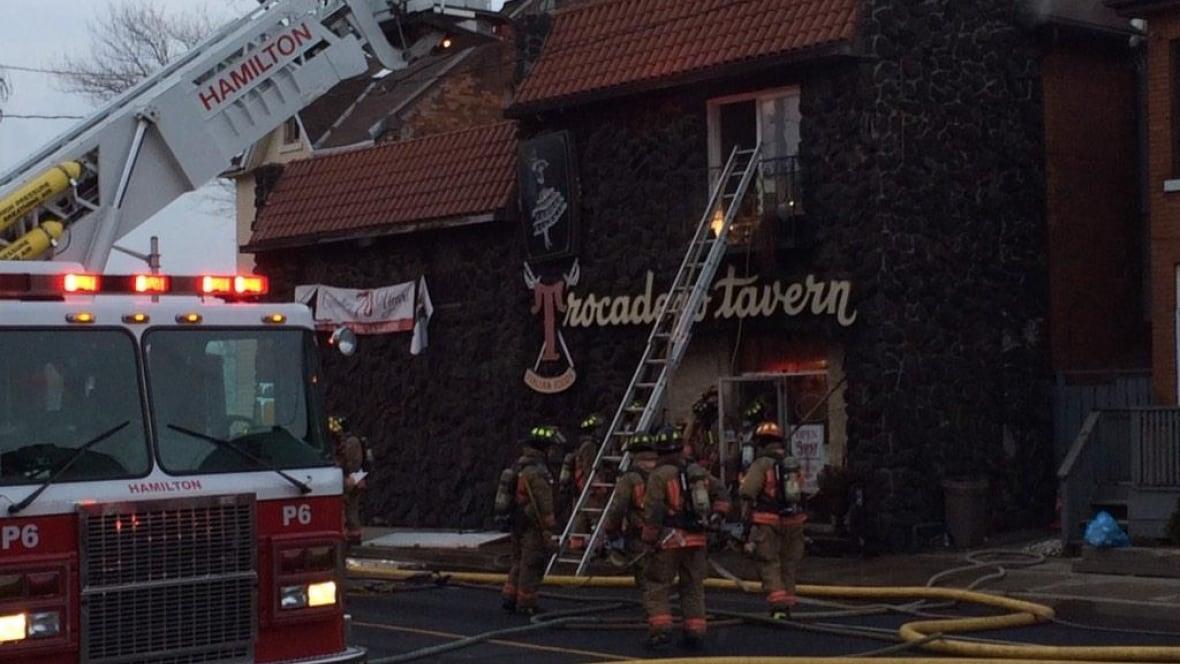 Fire Rips Through Barton East Restaurant Latest Hamilton