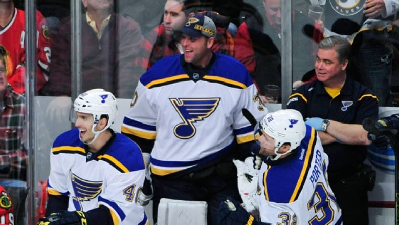 Martin Brodeur Gets Start In Goal For Blues Cbc Sports