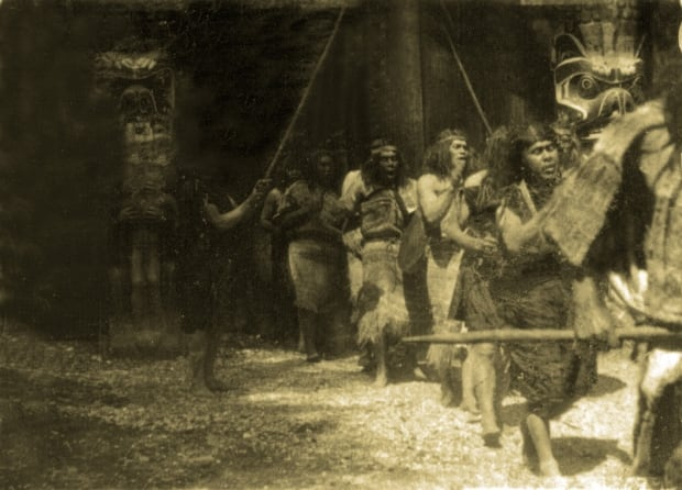 In the Land of the Head Hunters (1914)