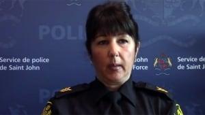 Saint John police Sgt. Lori Magee