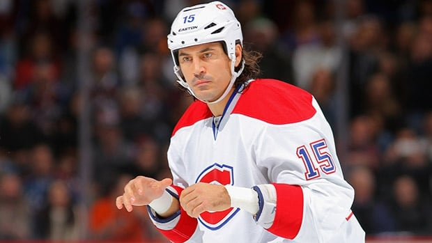 George Parros finishes his NHL career with 36 points and 1,092 penalty minutes over 474 regular-season games.