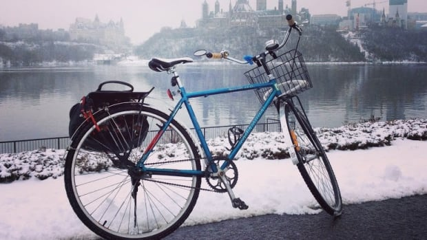 "Cassandra Fulgham tweeted this photo on Dec. 3 and wrote: ""Had a great #ottbike in this morning; great conditions. I especially liked my brand new upright handlebars! Comfy!"""