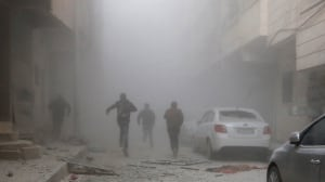 Syria airstrikes by Assad forces