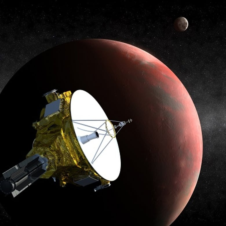 New Horizons spacecraft spots possible ice cap on Pluto