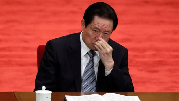 Zhou Yongkang, the once-feared Chinese security chief, has been expelled from the Communist party and is now under arrest facing corruption charges.