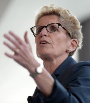 Ontario Premier Kathleen Wynne