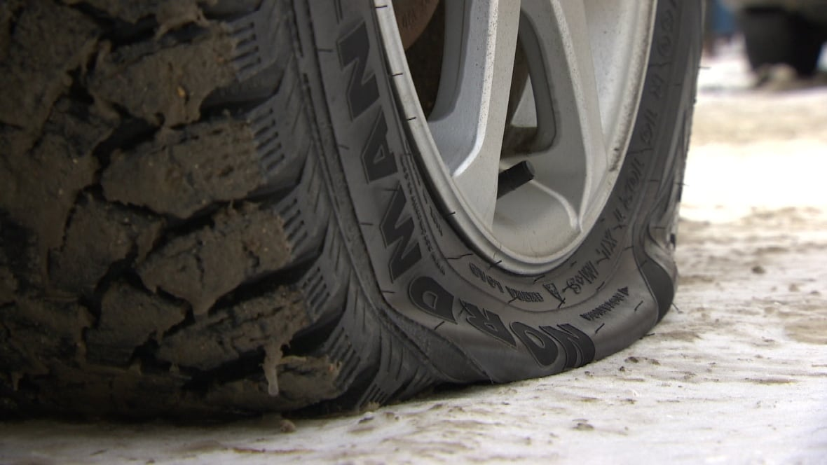 Tires North Vancouver >> B.C. man slashes car tire, accidentally stabs self in leg - British Columbia - CBC News