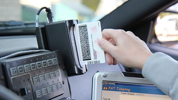 E-ticketing allows members to swipe licences and upload information instantly.