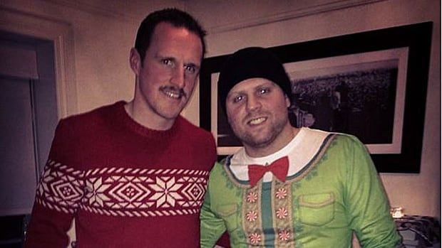The Toronto Maple Leafs hilariously usher in the holiday spirit with unique fashion statement.