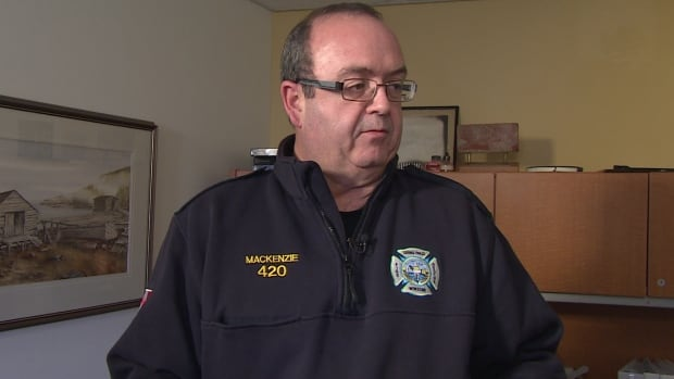 Families need alternative means to connect with each other if phone networks go down, says Fire Chief Vince MacKenzie.