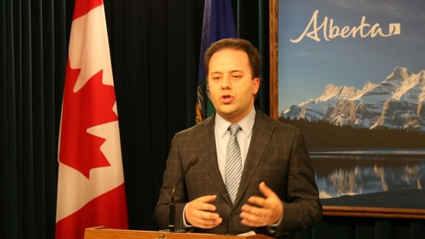 Justice Minister Jonathan Denis tabled Bill 2, the Alberta Accountability Act, on Monday afternoon.