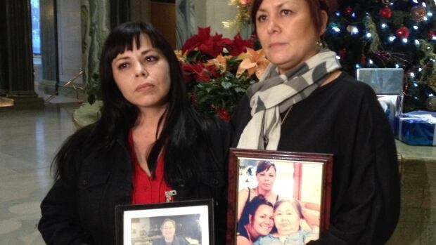 Tracey Robinson and Tammy Skilliter are the niece and daughter of Fern Chingos, who died last year.