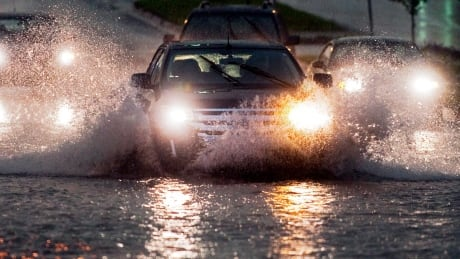 Heavy downpours to soak much of Nova Scotia Tuesday