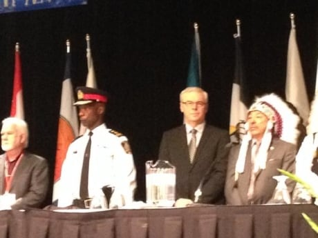 Aboriginal chiefs to hear from Rinelle Harper, press for