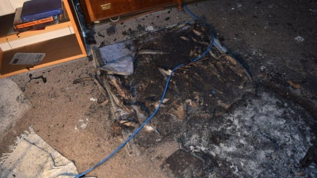 Yukon's fire marshal is warning people to be careful after a dog playing with matches started a fire. 'Obviously it's easy enough for a dog to plan an escape when they set fire to their own dog bed,' says Dennis Berry.