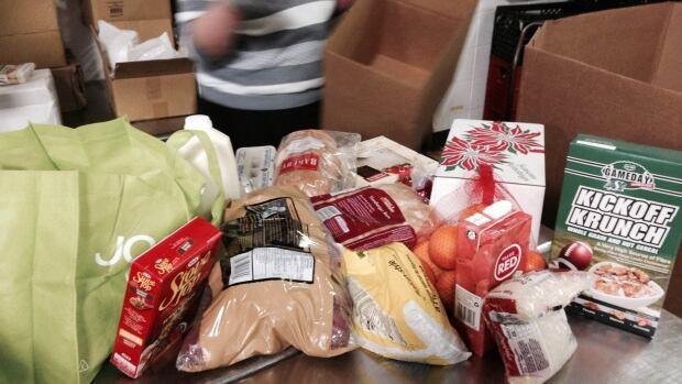 Ottawa Food Bank Christmas Hamper