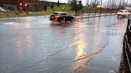 West Vancouver flooding