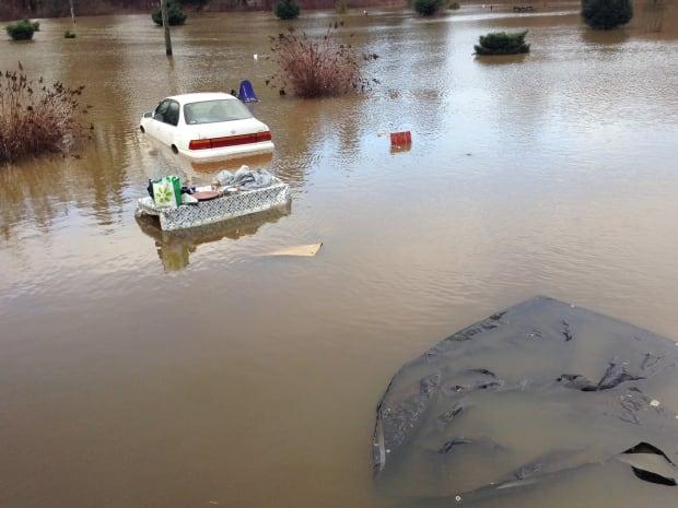 Courtenay flooding