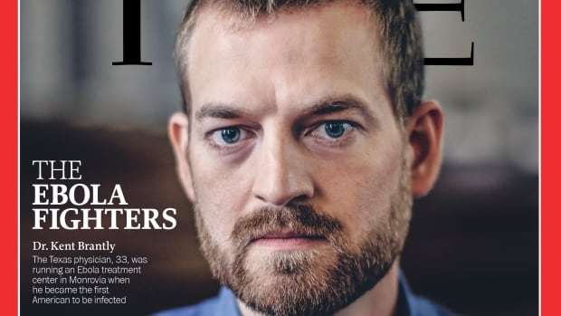 Dr. Kent Brantly was named Person of The Year by Time magazine for 2014. HIs  recovery from what his doctors believed was death's doorstep was widely credited to the drug ZMapp, designed at Canada's National Microbiology Laboratory in Winnipeg.