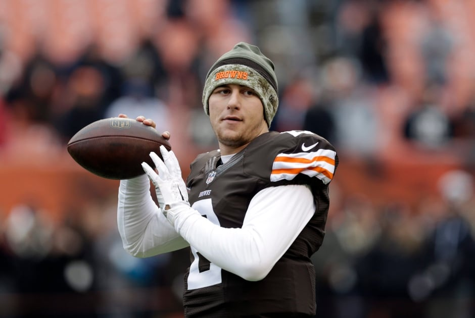 Browns Manziel Football