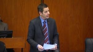Brian Bowman at council meeting - Dec. 10, 2014