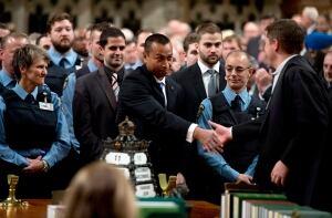 Parliament Hill Security Honour