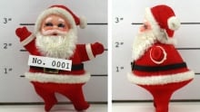 Santa Arrested