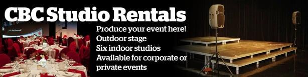 CBC BC Studio Rentals