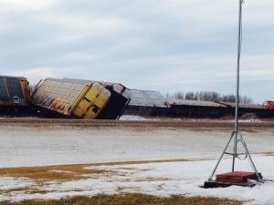 Raymore train derailment