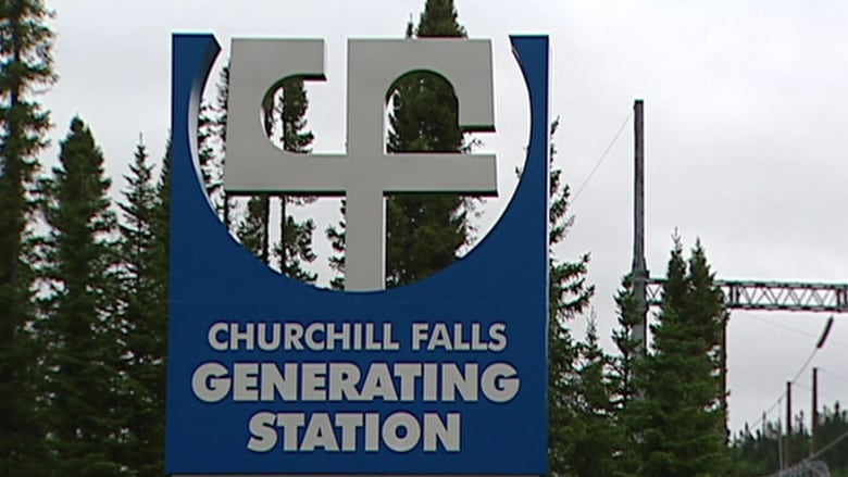 Churchill Falls generating station