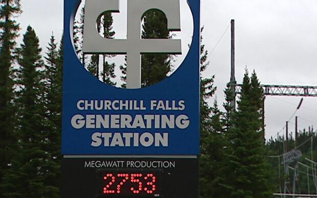 Churchill Falls generating station