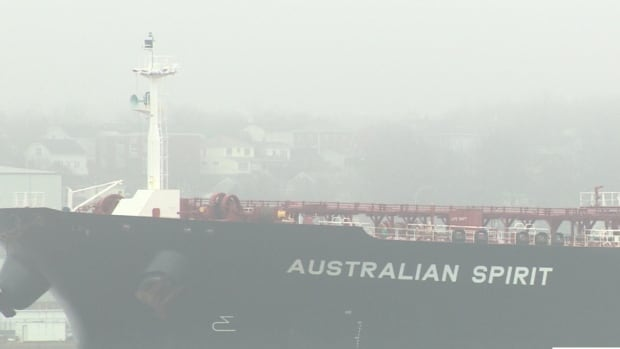 The Australian Spirit arrived in Halifax harbour last Friday.