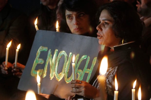 Pakistan school shooting vigil Dec 16 2014