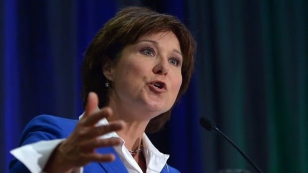 B.C. Premier Christy Clark says the Site C dam will ensure B.C.'s energy self-sufficiency for the next 100 years at a reliable cost to the taxpayer.