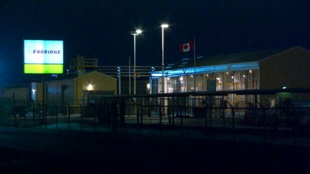 Enbridge said it expected clean up due to a release of crude oil at its Regina Terminal to be completed on Thursday.