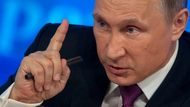 Russian President Vladimir Putin said 'We are not going to wage war on anyone, we are going to cooperate with all.'