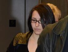 Emma Czornobaj helping Ducks Sentence 20141218