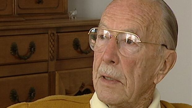 Ernest Côté has spoken to Radio-Canada and CBC News several times over the years about his experiences in the Second World War.