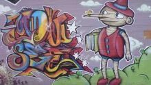 Pinochio Graffiti