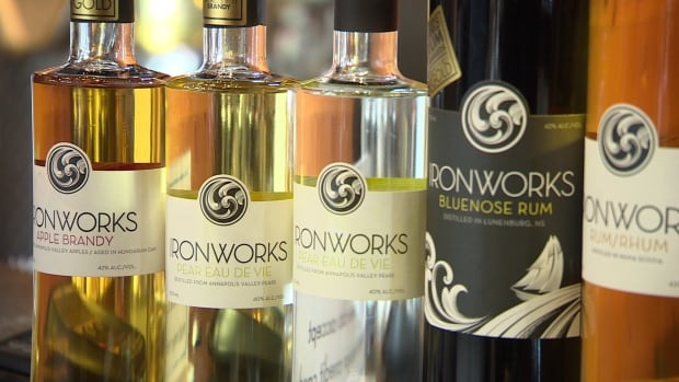 The Nova Scotia Liquor Corporation saw a jump in sales of locally produced spirits.