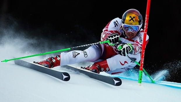 Marcel Hirscher, Austrian skier, wins men's giant slalom