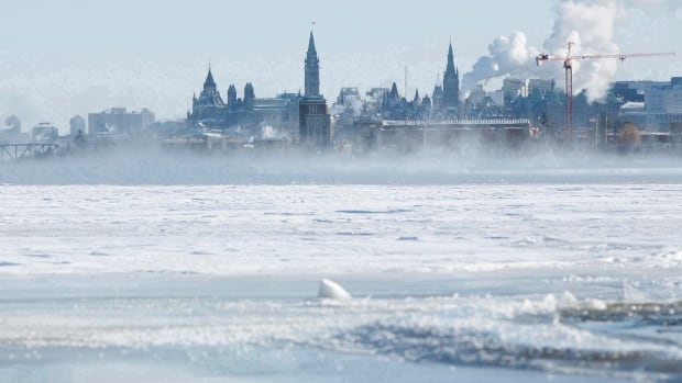 Overnight snowfall has blanketed the city, with temperatures currently at -2 C.