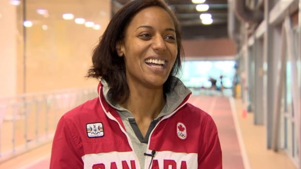 Saskatchewan sprinter Ese Omene is hoping a crowdfunding campaign can help her realize her Olympic dream.