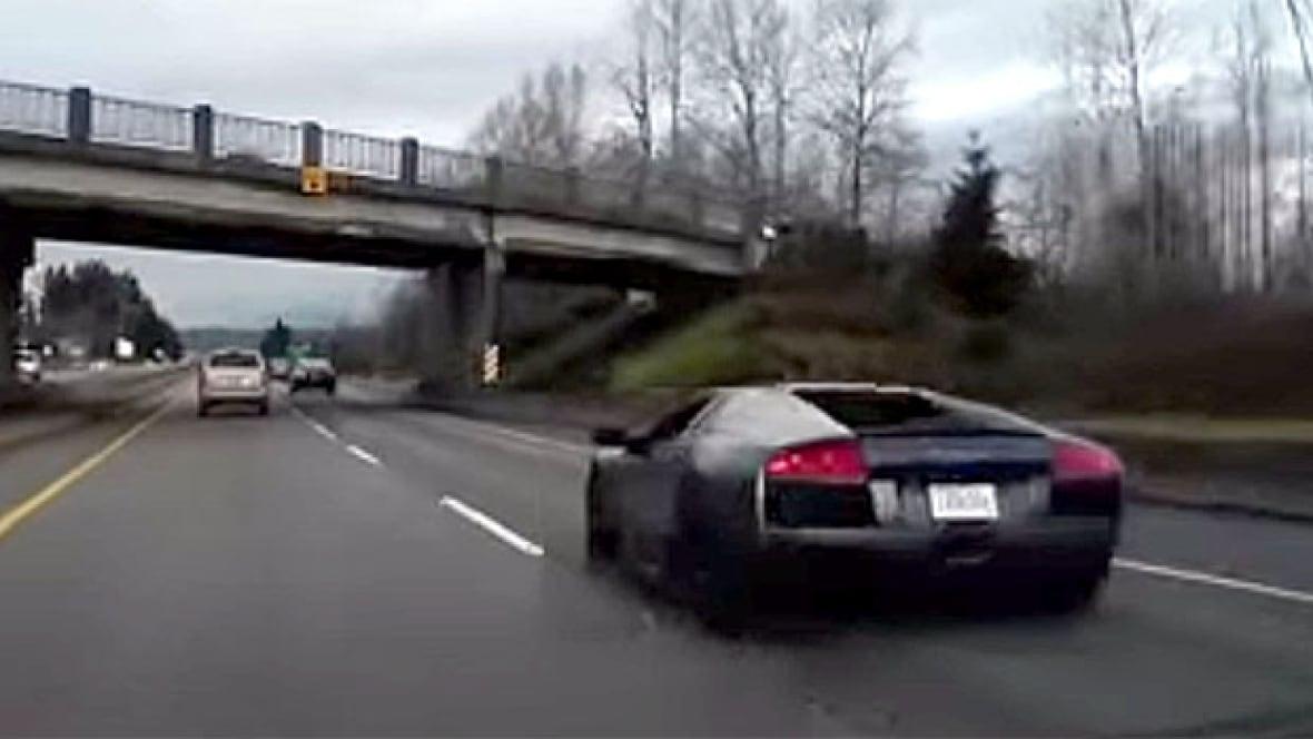 Spectacular Lamborghini Crash Caught On Dash Cam Video