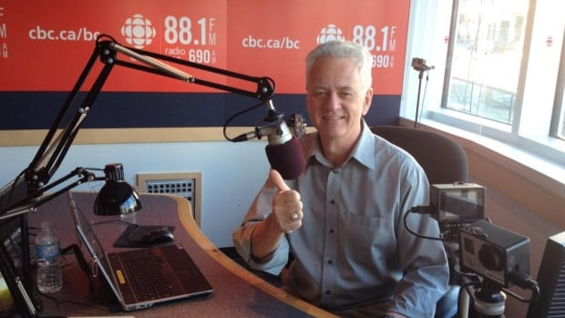 B.C. Almanac host Mark Forsythe hosts his final show on CBC Radio One on Dec. 24.