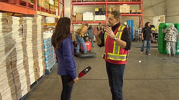 Greater Vancouver Food Bank CEO Aart Hesse tells CBC supplies of food are running low. The food bank feeds about 28,000 people a week.