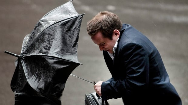 Rain showers are expected throughout your Monday with a risk of thunderstorms this morning and a high of 8 C.