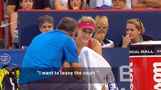 Eugenie Bouchard quotes of 2014